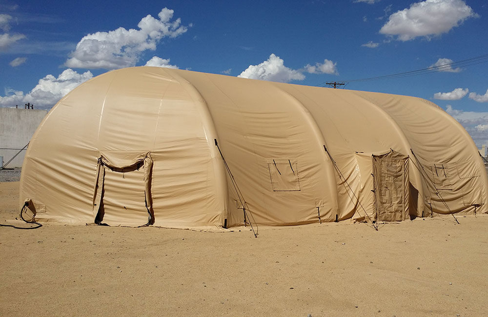 Inflatable Tents Supported By The Worldu0027s Most Advanced Airbeam Technology & AirBeam Inflatable Military Tents u0026 Shelter Systems Federal-Fabrics ...
