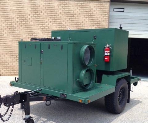 5-ton med trailer