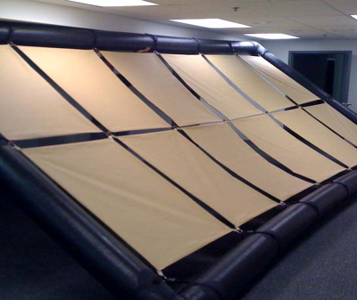 Inflatable Solar Frame